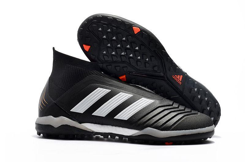 online retailer 40f18 3250e Menn Fotballsko Adidas Predator Tango 18+ TF Sort Hvit Rød visit ushttps