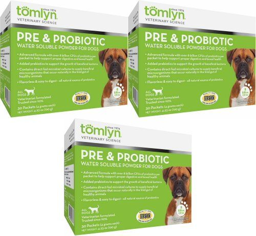 Tomlyn Pre Probiotic Water Soluble Powder For Dogs 90ct 3