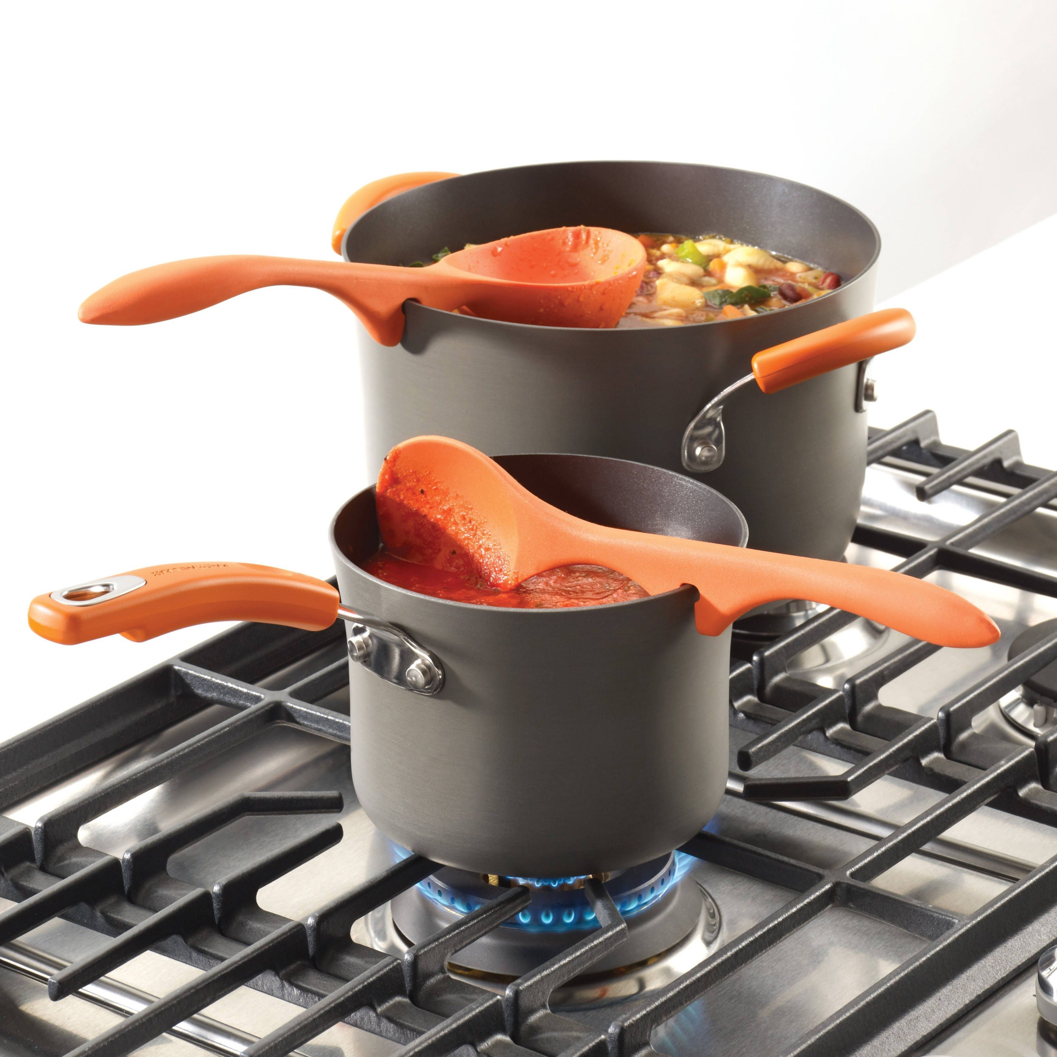 Rachael Ray Tools And Gadgets 2 Piece Orange Lazy Tools
