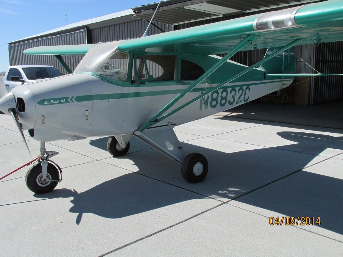1953 Piper PA-22-135 Tri Pacer | Flying | Piper aircraft