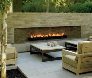 Propane Outdoor Fireplace Inserts For Ventless Fireplaces Yahoo Image Search Contemporary Outdoor Fireplaces Modern Outdoor Fireplace Outdoor Gas Fireplace