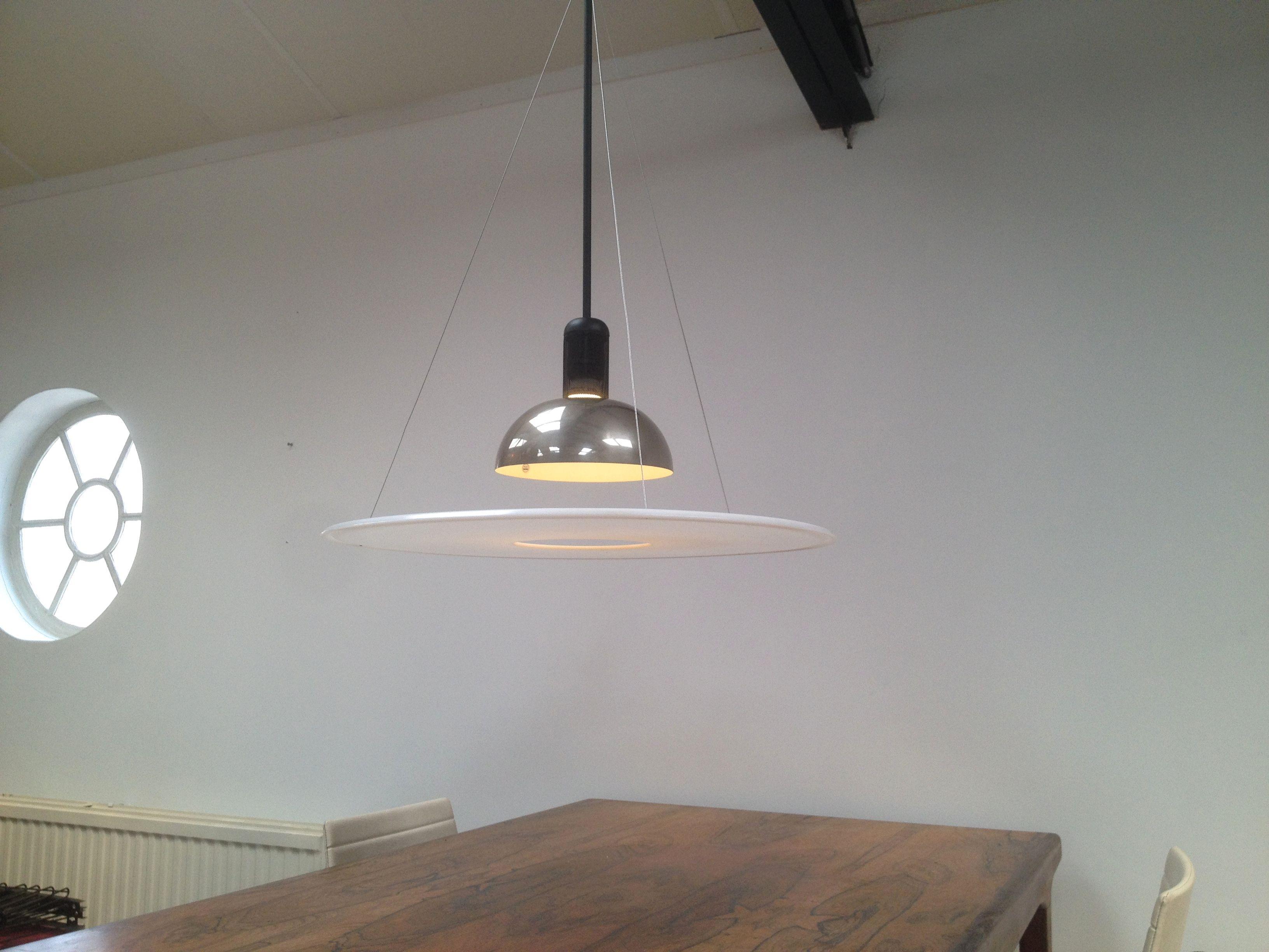flos frisbi design lamp on vintage station.com   Verlichting