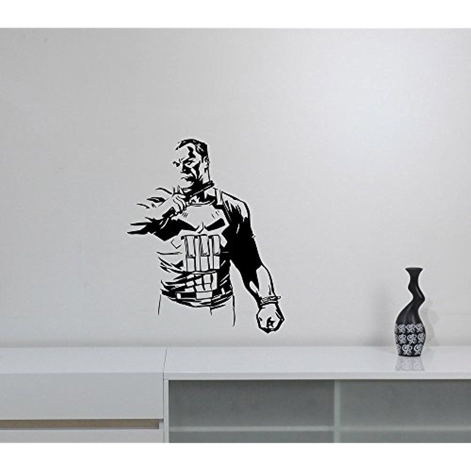 The Punisher Wall Sticker Vinyl Decal Marvel