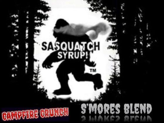 Campfire Crunch - S'mores Blend - SASQUATCH SYRUP.COM