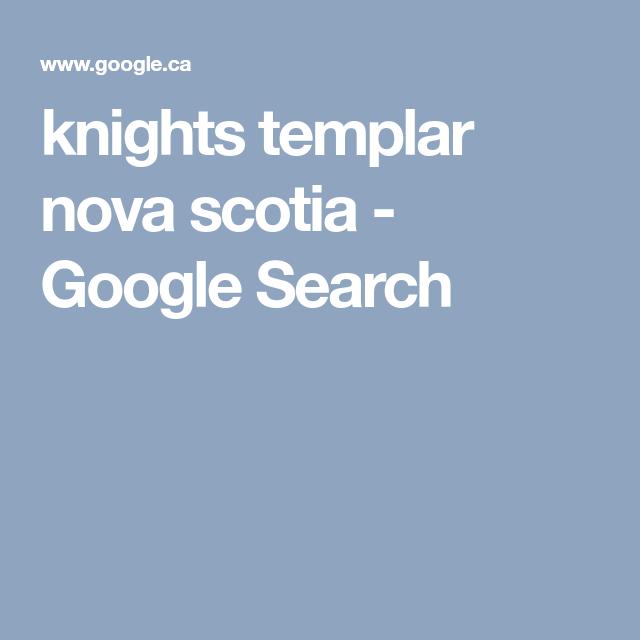 knights templar nova scotia google search oak island oak rh pinterest com