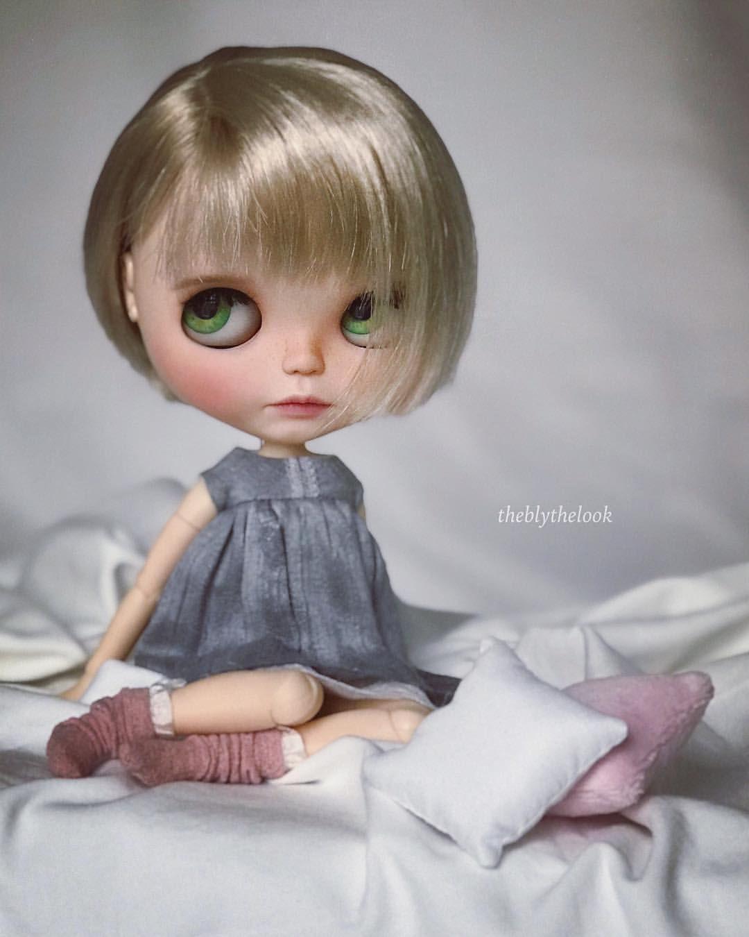 Fashion, Character, Play Dolls Ooak Custom Blythe Doll By Pliskytrix.