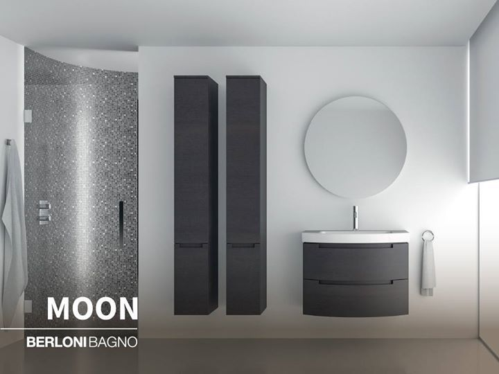Berloni Bagno Moon Perfection Can Be Read In The Rounded And