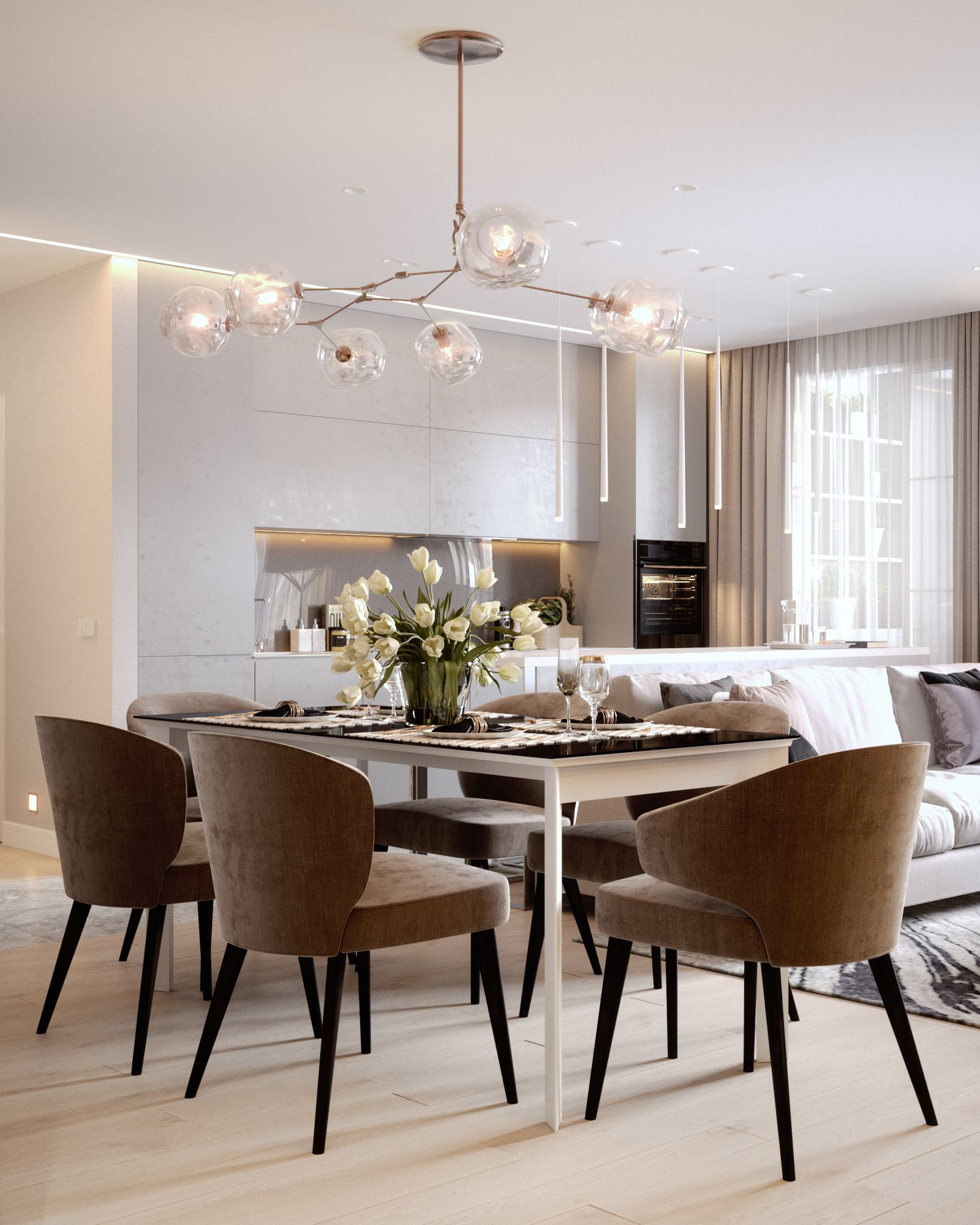 how to elevate your dining room decor with contemporary lighting rh pinterest com
