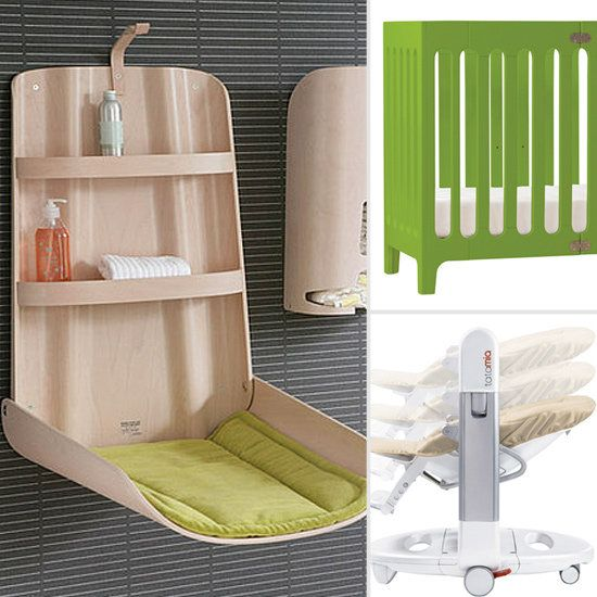 Space saving changing table for nursery | Baby! | Pinterest | Baby ...