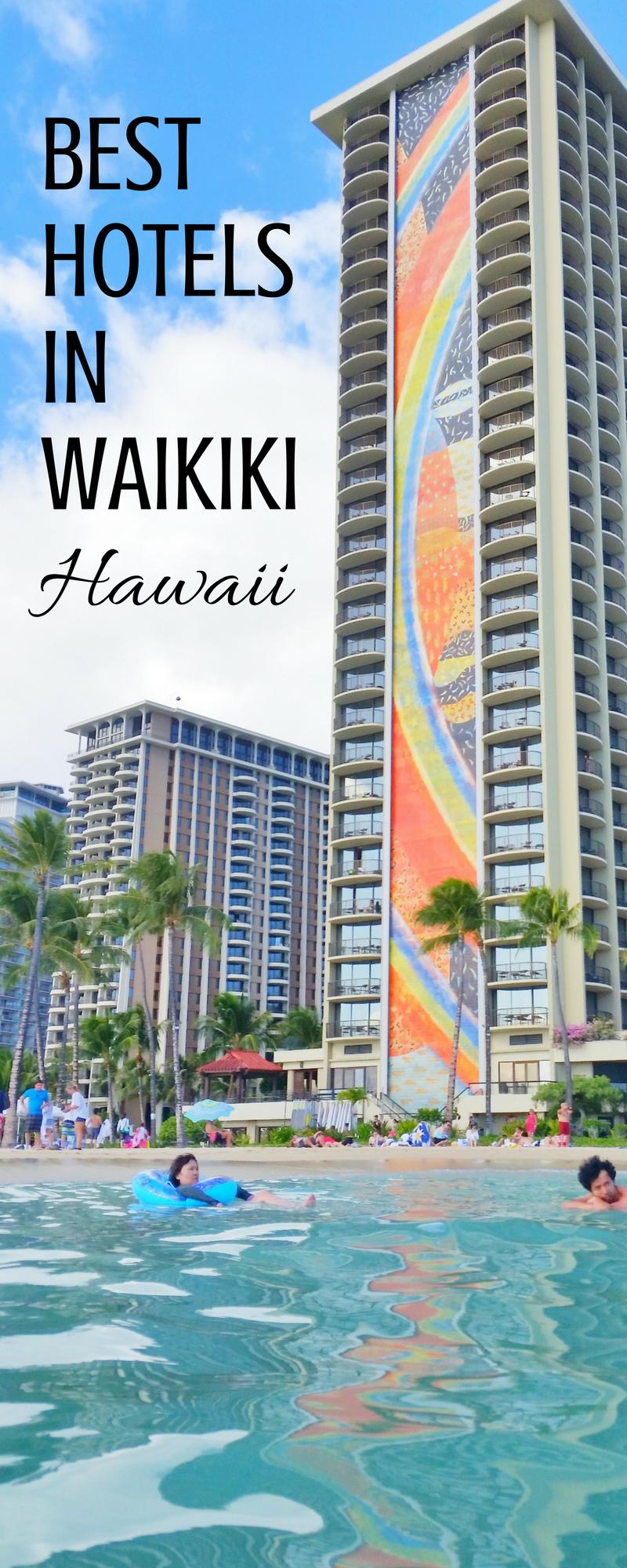Hotels In Waikiki Map List Oahu