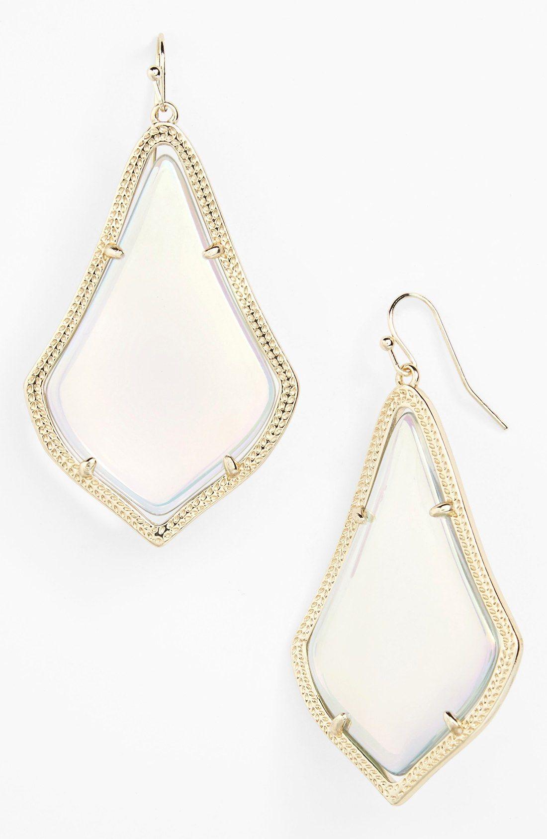 fa43463c6 Kendra Scott 'Alexandra' Large Drop Earrings | Christmas list ...