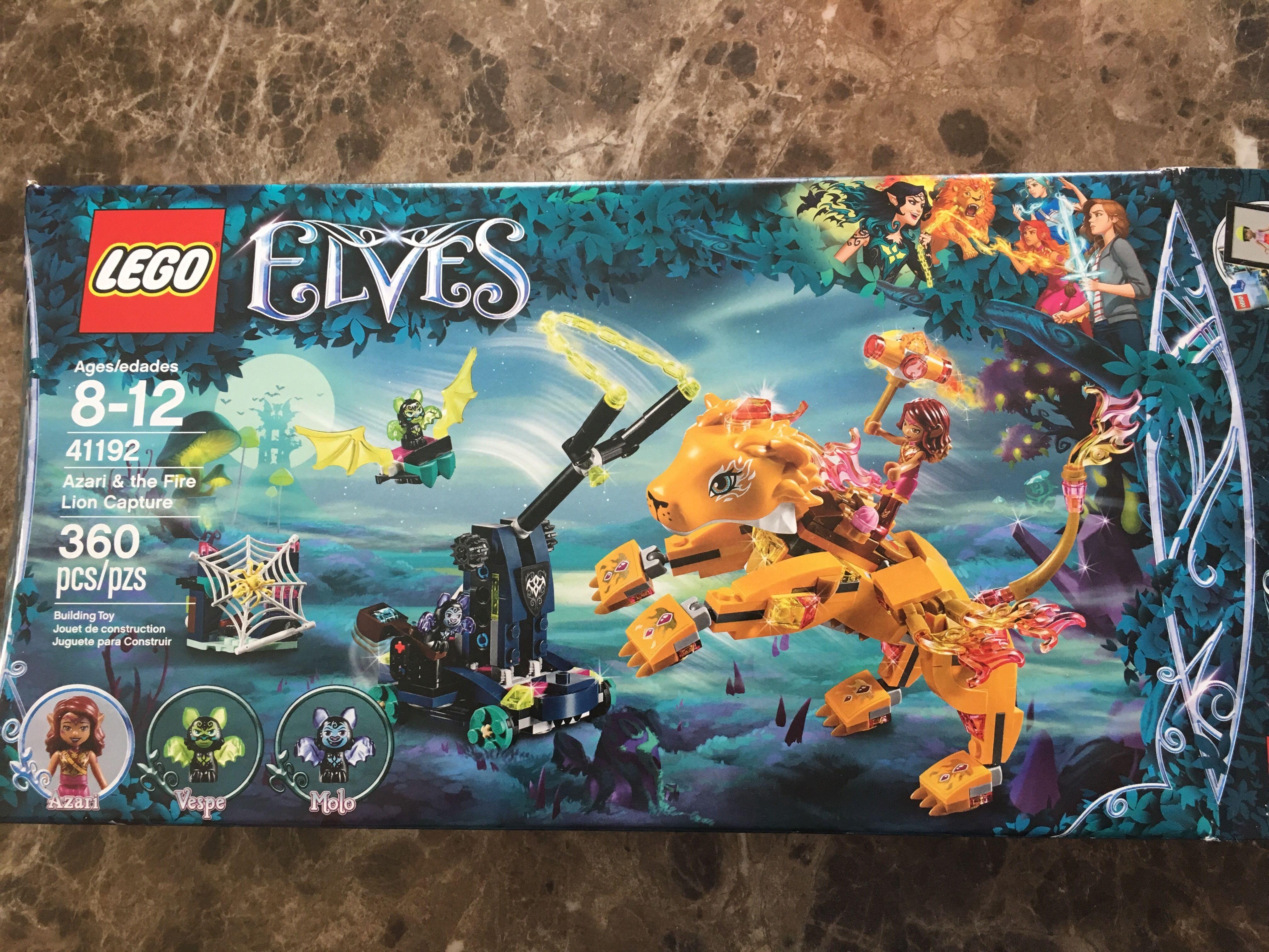Lion Fire CaptureSets Lego 41192 The ElvesAzariamp; NnwkZO08XP