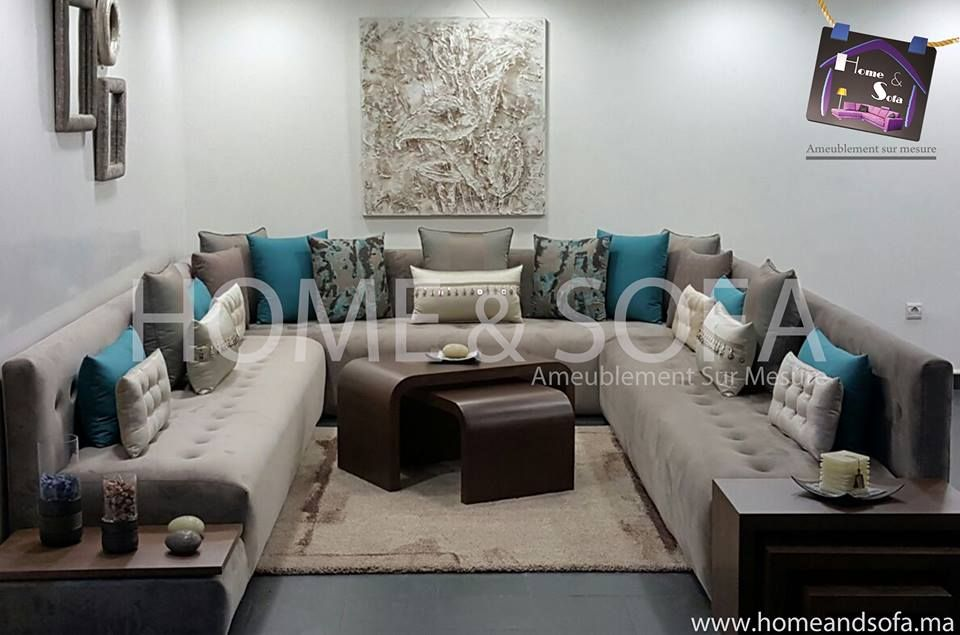 Salon Home & sofa 6 | Salon marocain design, Décoration ...