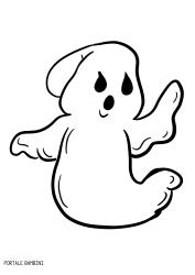 Fantasmi di Halloween da Stampare e Colorare (gratis)  b8367e714c14