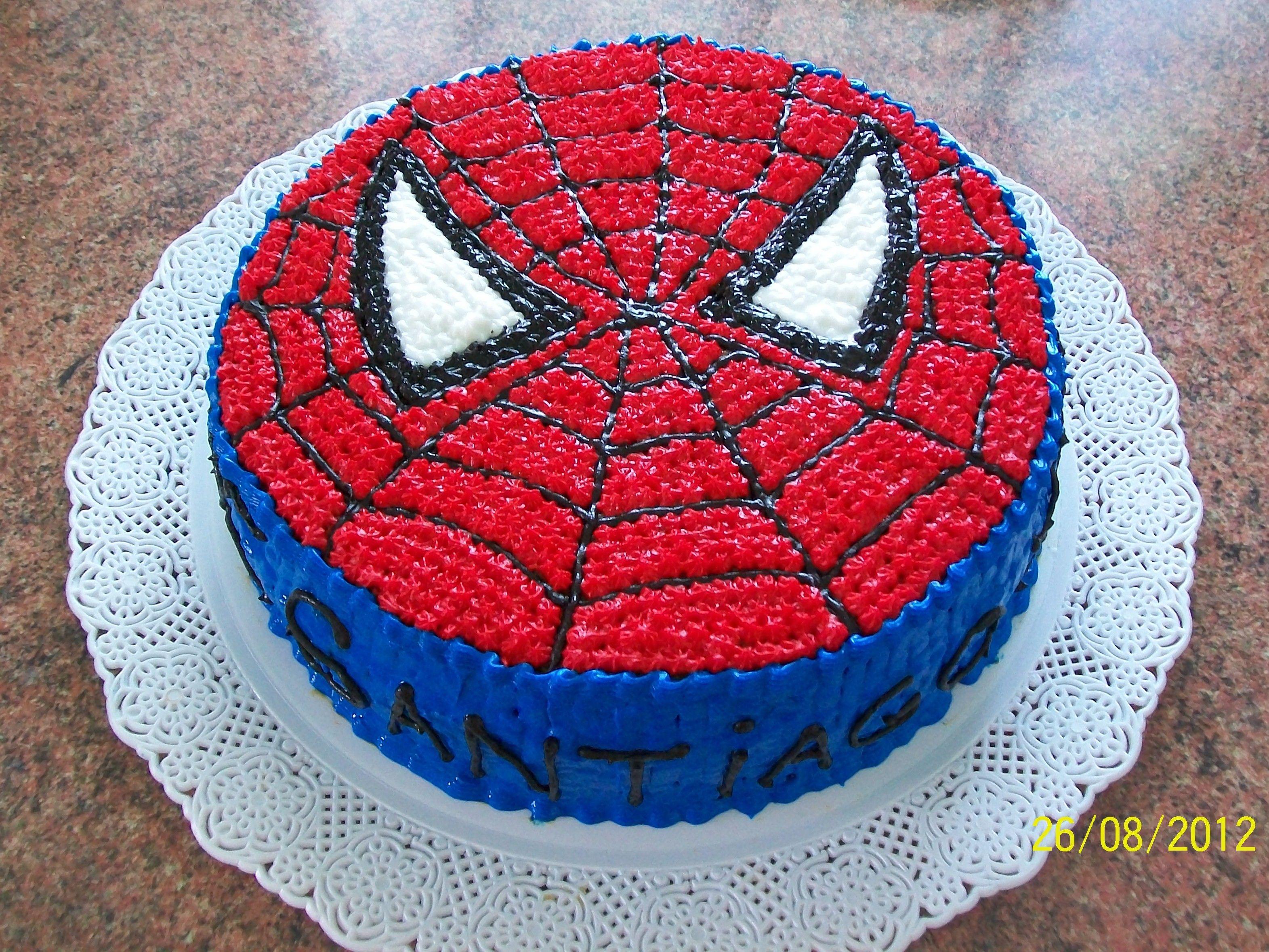 Torta hombre ara a spiderman cake cami cakes - Bizcocho cumpleanos para ninos ...
