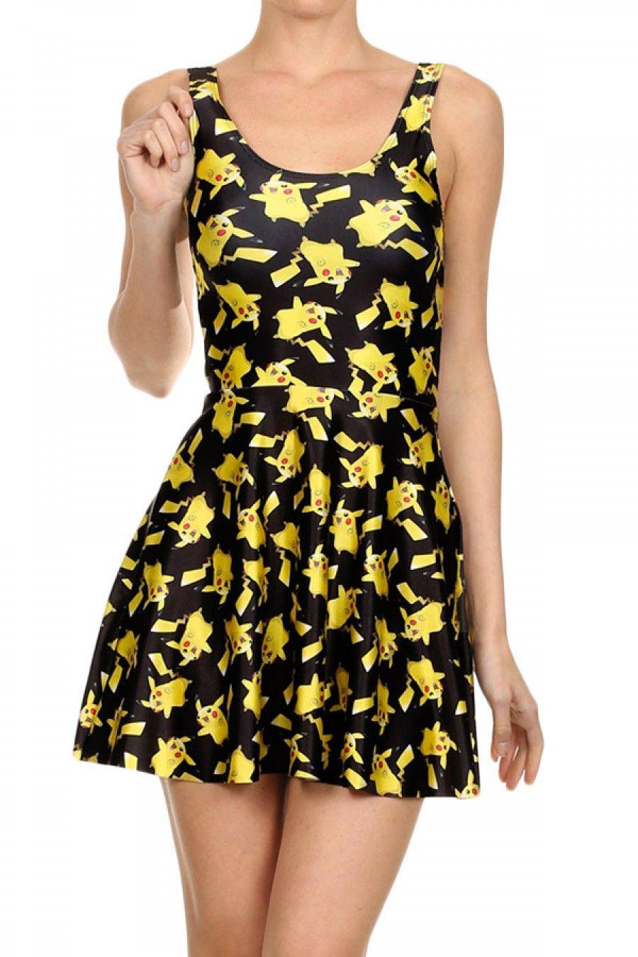 Women's Pikachu Skater Dress