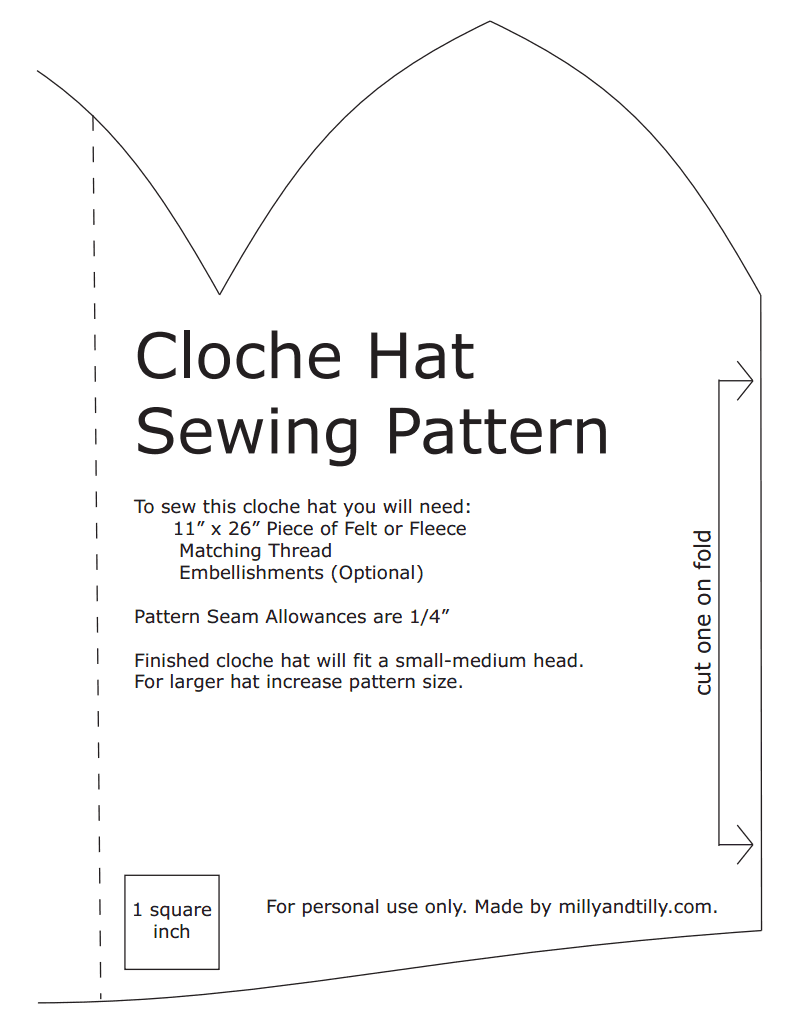Cloche hat sewing patternpdf google drive to make cloche hat sewing patternpdf google drive pronofoot35fo Choice Image