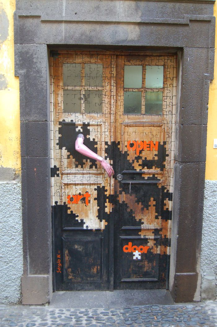 Funchal, Madeira, Portugal Is it bad I now want to do my front door this way?