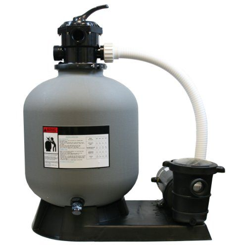 Pool Pump Review-4500GPH 19 inch Sand Filter 1.5HP Above ...