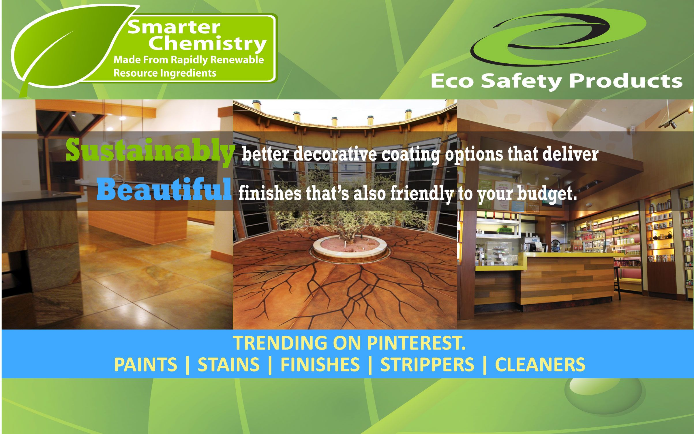 Eco Safety Products Smarter Chemistry Made With Renewably