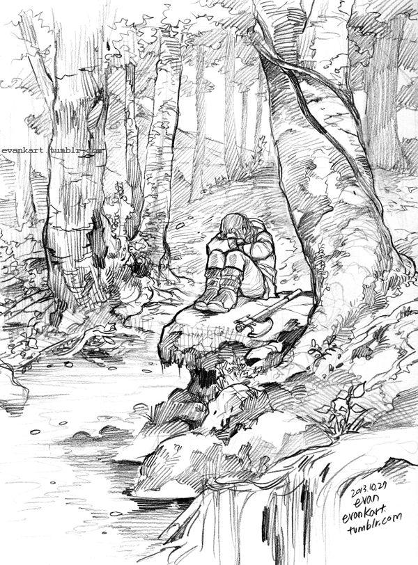 In the forest (Fili) by evankart on DeviantArt | The Hobbit ...