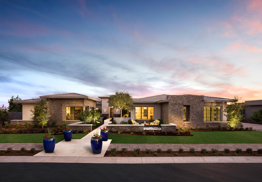 toll brothers whitewing at whisper ranch photo house design in rh pinterest com