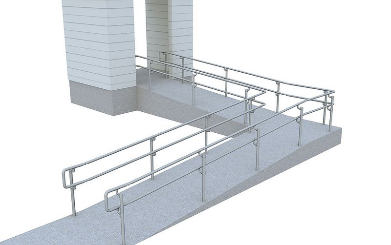 Best 5 Top Mid Ada Ramp Railing Pixeling Pinterest 400 x 300