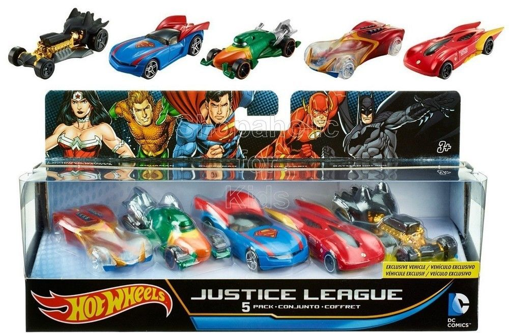 Hot Wheels DC Universe Die-Cast (5-Pack)