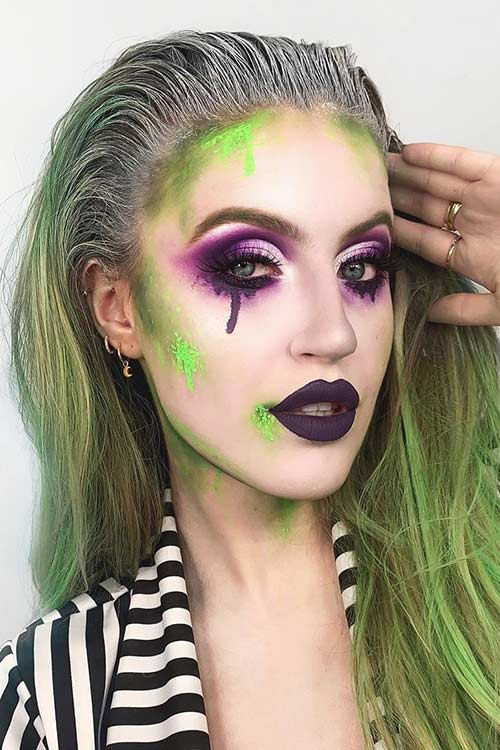 Photo of 43 Pretty Halloween Makeup Ideas for 2020 | Page 3 of 4 | StayGlam