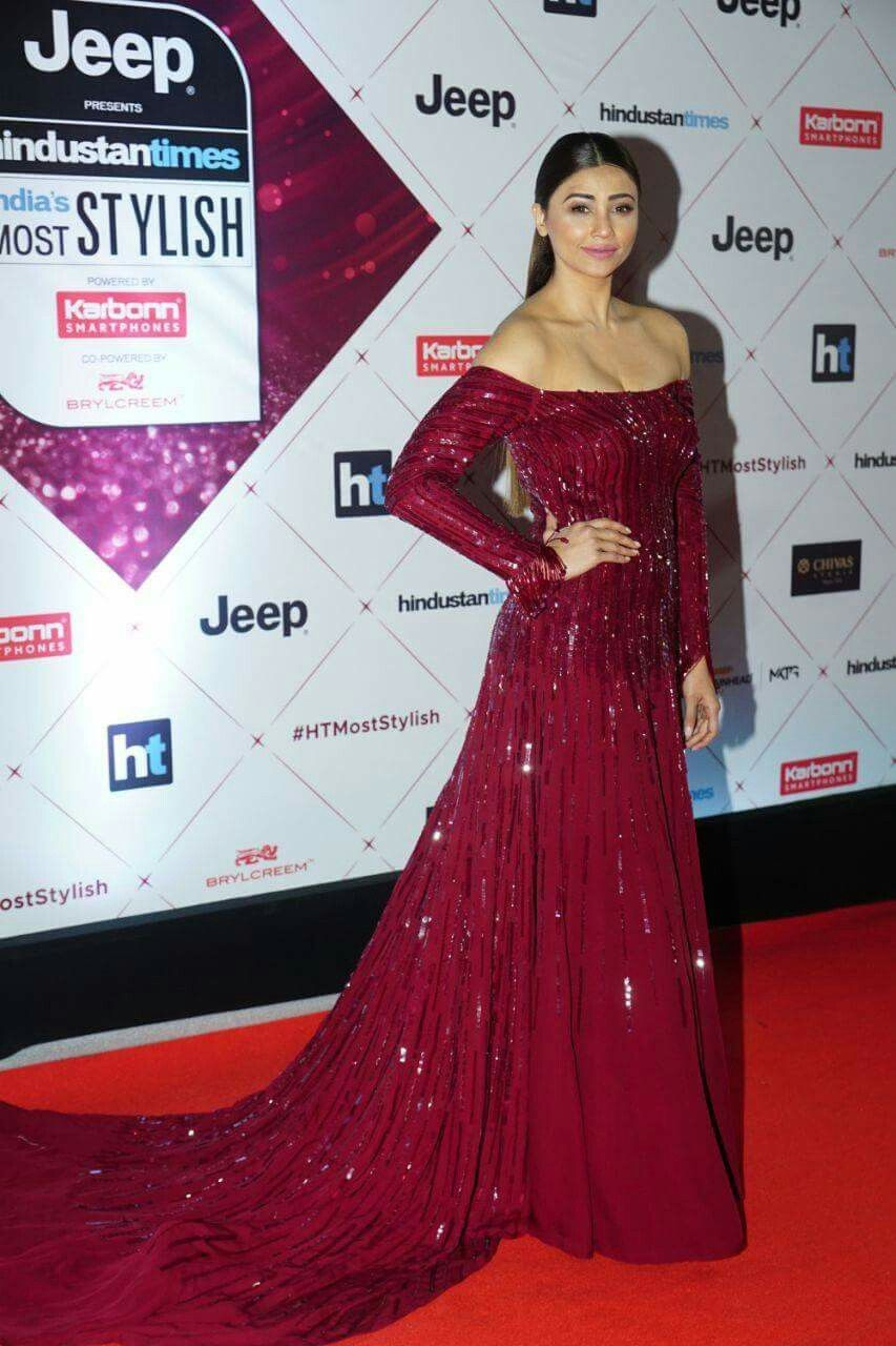 Bollywood Actress Daisy Shah At Red Carpet Of Ht Most Stylish Award 2018 Forever Fashion Bollywood Fashion Formal Dresses Long