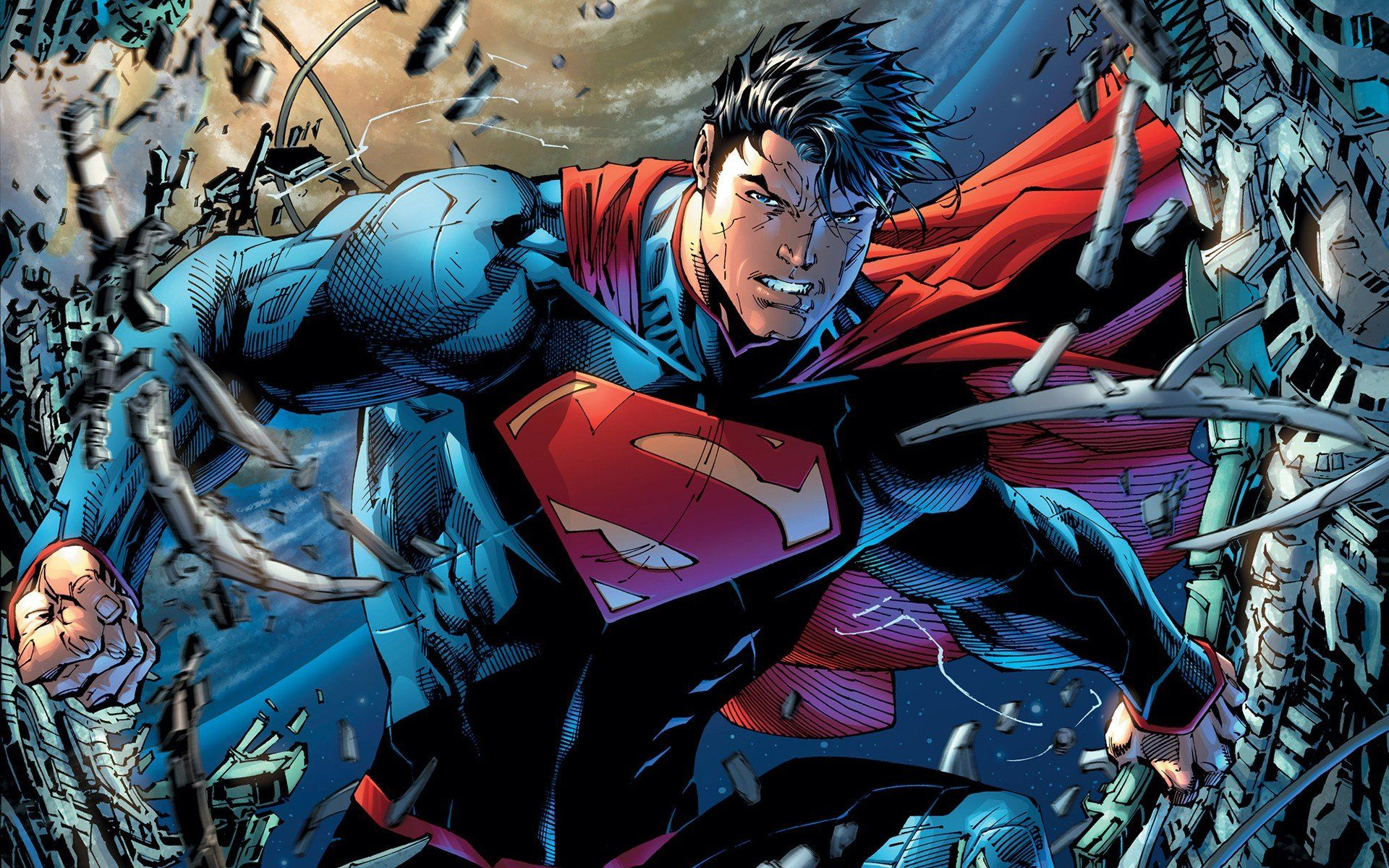 DC Comics Superman Man Of Steel The New 52 Unchained