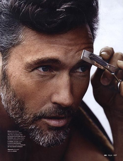 Gary Greenwood Grooming For Gq Style Photography John Balsom