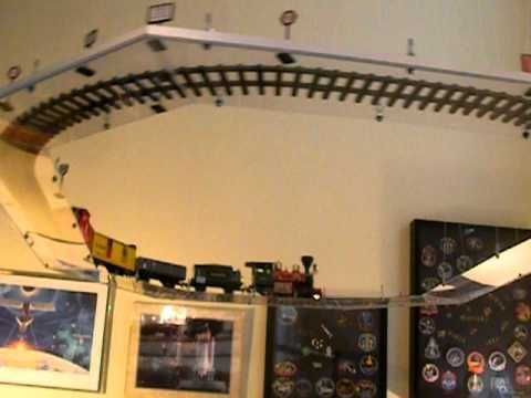 Suspended Model Train For The House I Want Someday