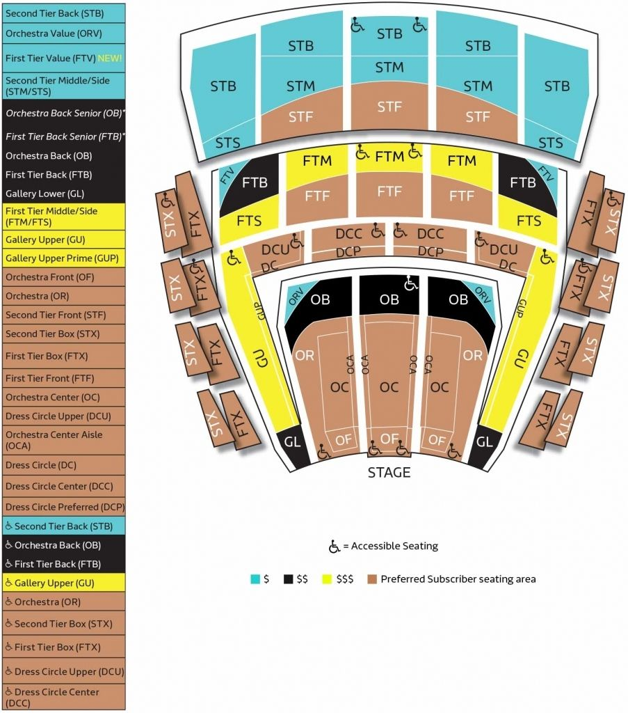 The Brilliant And Gorgeous Orpheum Theater Sf Seating Chart Seating Charts Chart Auditorium Seating