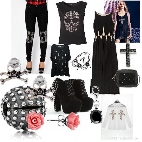 How to dress rock chick style