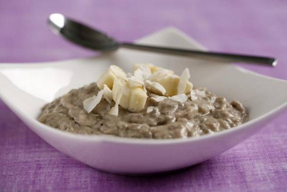 coconut banana pudding from true food kitchen uses chia seeds rh pinterest com