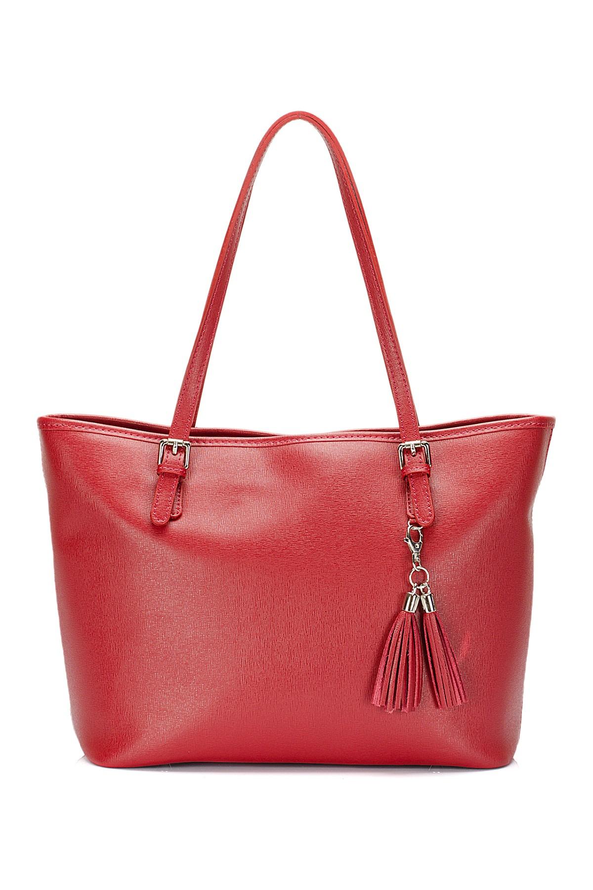 Saffiano Leather Tote Bag by Lisa Minardi on @HauteLook