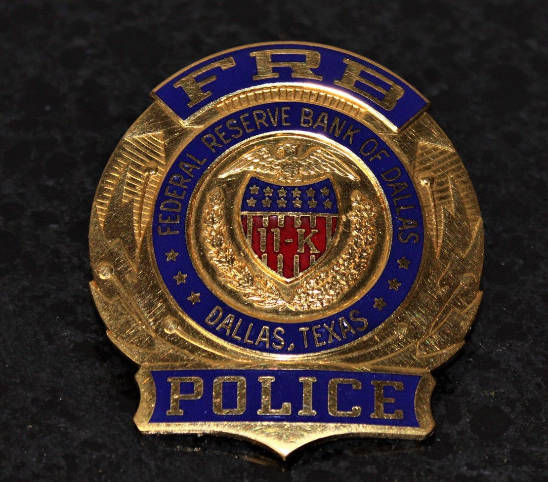Federal Reserve Bank Of Dallas Police (KaratClad(R