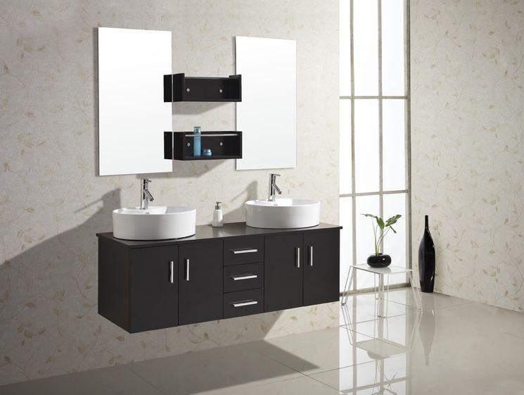 "Enya 59.1"" Double Bathroom Vanity Set"