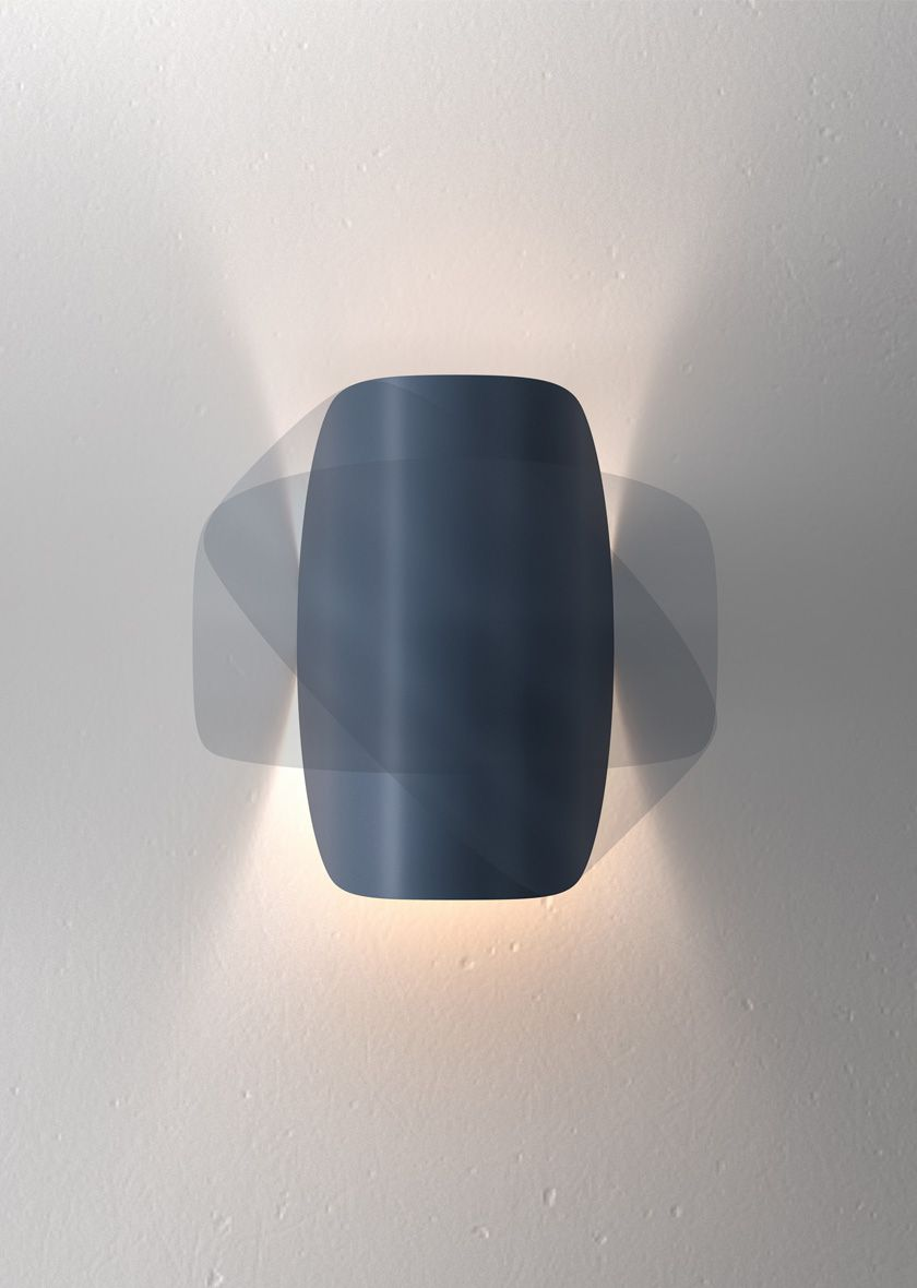 shaped like a small curved lunar disc io is a wall lamp designed rh pinterest com