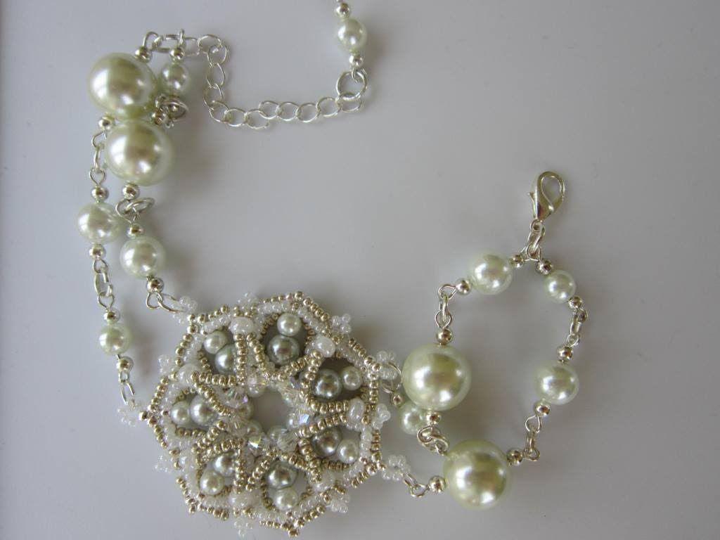 Chanel Style Pearl Bracelet