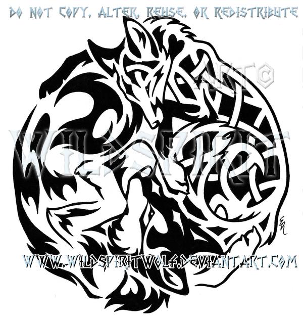 Irish celtic cross tattoo designs - Why Do I Obsess Over Kitsune Pinterest Tribal Wolf And Tattoo