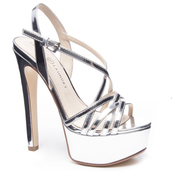 Chinese Laundry Shoes Chinese Laundry Teaser 2 Platform Heels Color Silver Size 8 Pageant Shoes Heels Dress And Heels