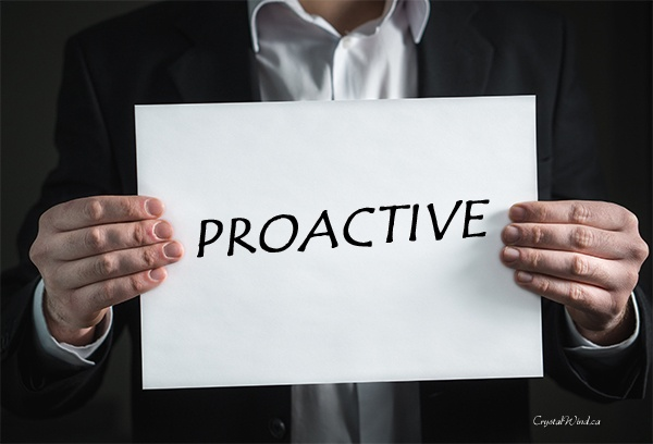 What Does it Mean to be Proactive? | This or that ...
