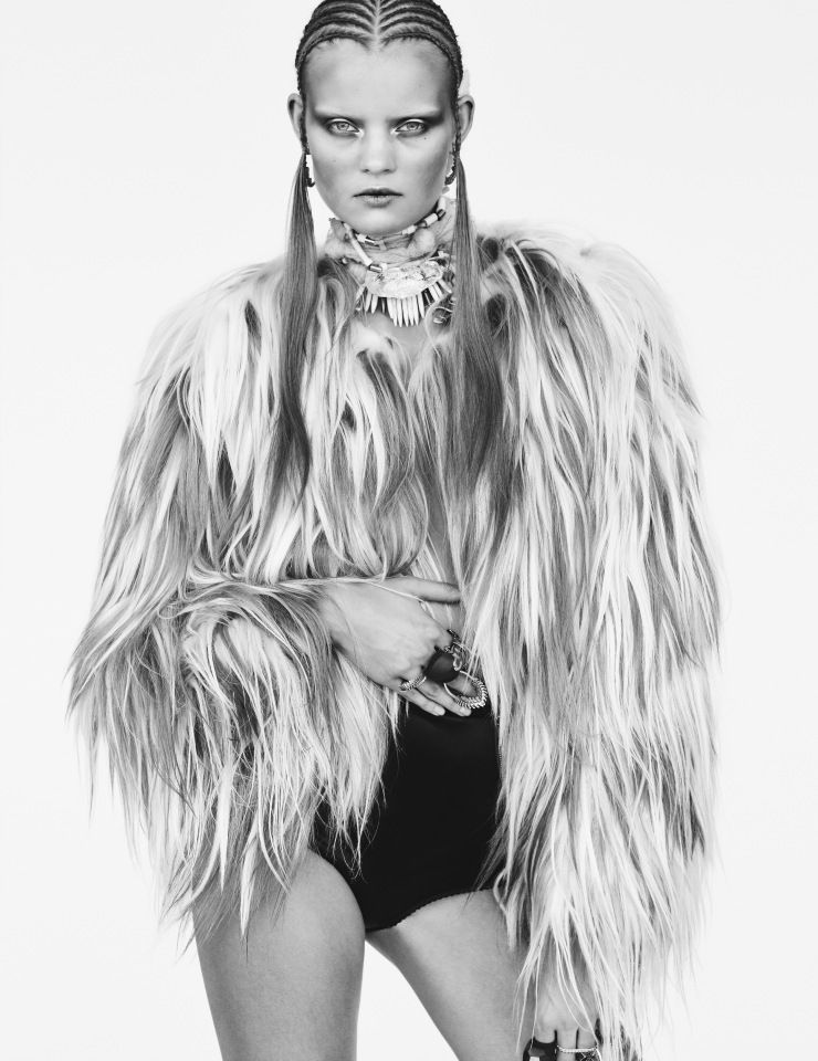 Kate Grigorieva by Billy Kidd for Numéro #158 November 2014 4