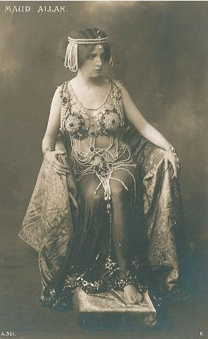 Maud Allan En Salome