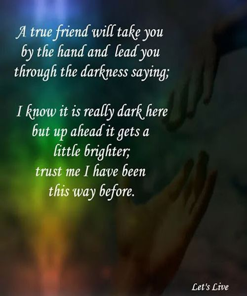 i know it is reality friendship quotes meaningful friendship