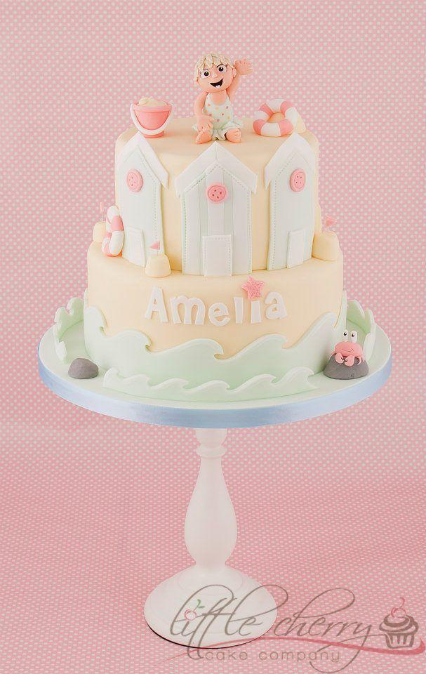 Beach Themed Cake