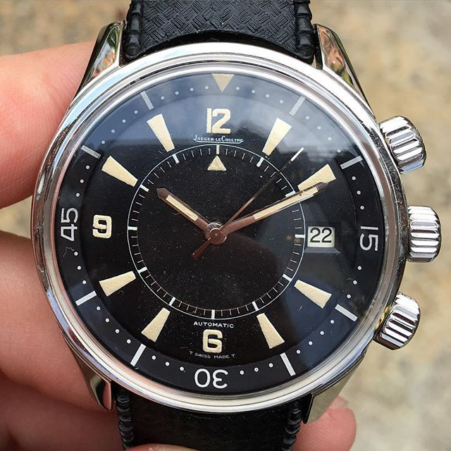 No my friends, this is NOT the re issue. This is the real deal, late 1960s vintage Jaeger LeCoultre Polaris in exceptional condition. More pictures can be viewed on our app. Inquire for details and pricing. #forsale #jaegerlecoultre #polaris #europeanwatchco