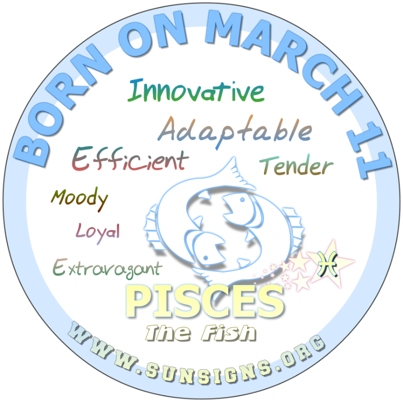 sign for march 11 horoscope